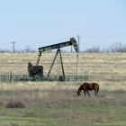 Trifecta_Dickens County_Pump Jack with Horse 1
