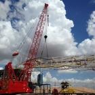 Crane Rigging Up