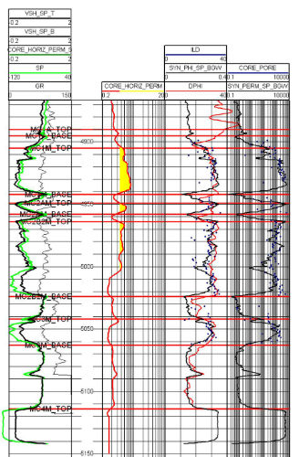 Aresco's Geologic Field Appraisal Services include Log Analysis