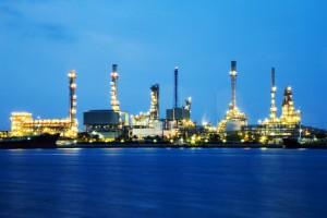 Gulf Coast Oil Refinery