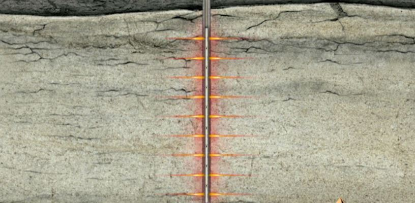 Hydraulic Fracturing Explosive Charge Video Animation