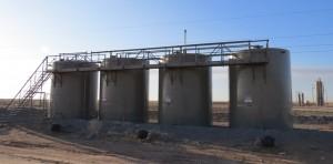 Ochiltree County Oil Tank Storage Battery