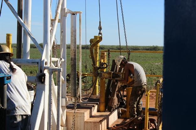 Corsicana Oil Field