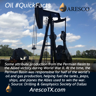 Did the Permian Basin help us win WWII?