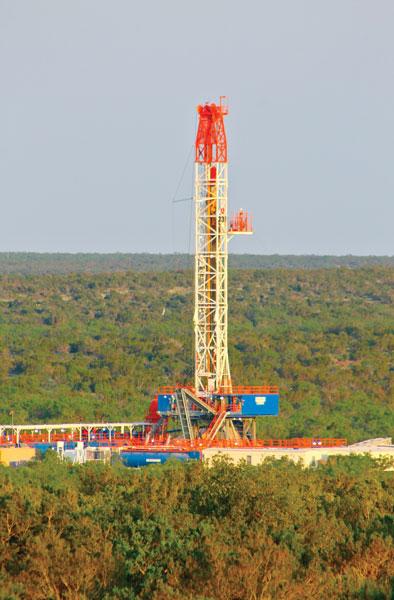 Permian Basin Drilling Rig