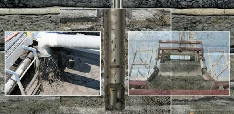 Vertical Oil Well Drilling Video